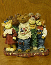 Americana Boyds Bearstone #227812  J.B. Bearyproud, Jan LE, From Retail Store