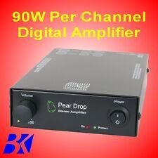 B.K. Electronics Pear Drop Audio Amplifier 90W per channel Class D  BLACK