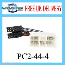 Pc2-44-4 SUBARU JUSTY 1992 - 2008 ISO Stereo head unit cablaggio adattatore lead