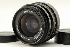 Exc+++ MINOLTA M-ROKKOR 28mm f2.8 MF Lens for Leiica CL CLE from Japan a152