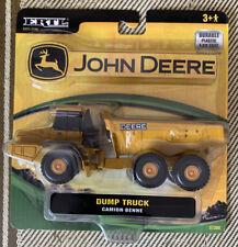 John Deere Articulated Haul Dump Truck ERTL 37308 Scale 1:50 Yellow Construction