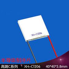 XH-C1206 Heatsink Thermoelectric Cooler Peltier Plate Module 40x40mm Max 6A 72W