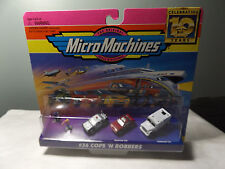 1996 MICRO MACHINES  #36 COPS 'N ROBBERS NOC:FREE SHIP