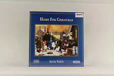 "500 Piece GIB-3001 Gibsons Jigsaw Puzzle  "" Home For Christmas """