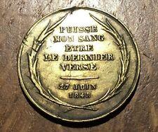 MEDAILLE DENIS A. AFFRE ARCHEVÊQUE DE PARIS. PUISSE MON SANG ÊTRE... (141)