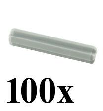 LEGO Technic 100 pcs LIGHT GREY AXLE SIZE 3 STUD LENGTH Rod Short Mindstorms NXT