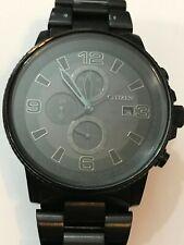 CITIZEN NightHawk EcoDrive Chronograph Men's Watch Item No. CA0295-58E
