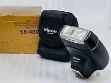 [MINT w/ BOX] Nikon Speedlight SB-400 Shoe Mount Flash From JAPAN #741