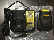 Brandnew DEWALT 20v 1.5ah Battery And Charger FAST SHIPPING Limited Number