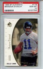 1999 SP Authentic #118 Brandon Stokley PSA 10