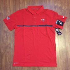 NEW Nike NFL On Field Team Apparel Tampa Bay Dri-Fit Polo Golf Shirt 746135 SZ M