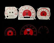 Red Reverse Instrument Glow Gauge Face For 05-09 Scion tC (Manual Transmission)