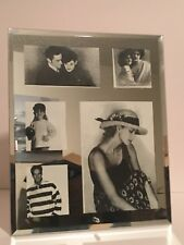 Glass Mirrored Collage Photo Picture Frame 5 x 7 Photo