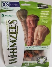 Whimzees Dental Treats For Dogs 5-15 lbs (2-7kg) 48pcs.