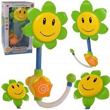 Sonnenblume GRÜN Dusche Badespielzeug Wanne Kinderspielzeug
