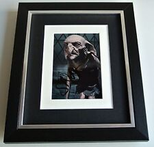 Simon McBurney SIGNED 10x8 FRAMED Photo Autograph Display Harry Potter Film COA