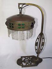 02D15 ANCIENNE LAMPE PARISIENNE ART DÉCO 1920 / 1930 PIED BRONZE STYLE LOUIS XVI