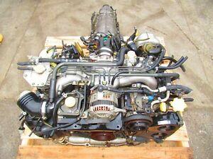 JDM Subaru Legacy EJ208 Twin Turbo Engine BH EJ20R EJ206 2.0L Twin Turbo Motor