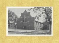 MA Springfield 1960s era postcard LIBERTY METHODIST CHURCH MASS