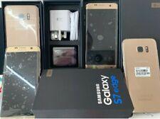 Brandneu Verpackt Samsung Galaxy s7 Edge sm-g935f Gold Platin Entsperrt Garantie