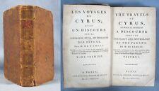 Les Voyages de CYRUS / A.M. Ramsay / Edition bilingue de 1802 / TOME 1