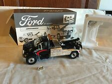 First Gear 1:34 Ford F-650 Truck Jerr-Dan Tow Body Wrecker Black Chrome