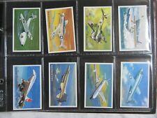 WORLD OF SPEED Set of 36 - Wills Embassy Cigarette Cards Full Set