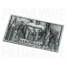 New York Big Apple Landmarks Empire Statue of Liberty NY Souvenir Fridge Magnets