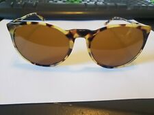 NEW Ralph Lauren Polo 4051-P 5004/53 Sunglasses Yellow Tortoise Brown Glass Lens