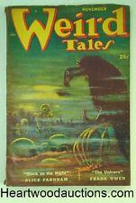 Weird Tales Nov 1952 Seabury Quinn; Di Giannurio Cvr
