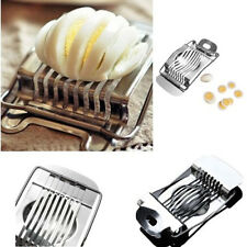 Stainless Boiled Egg Slicer chen Cutter Cheese Mold Mushroom Wire Cutter best.,.