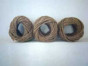 Coconut Fibers Coir Ropes 100% Natural ECO Friendly 30M Length from Sri Lanka