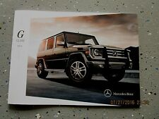 2014 - 14 MERCEDES-BENZ G-CLASS G550 G63AMG OWNER MANUAL GUIDE INFORMATION BOOK