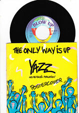 """7""""- Yazz - The Only Way is up + Postercover ---"""