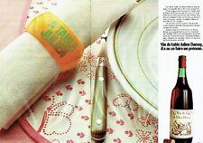 Publicité Advertising 057  1980  Le vin de table Julien Damoy ( 2 pages)