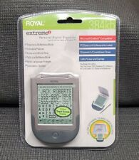 New Royal Extreme 2 Touchscreen Personal Digital Organizer 384kb Sync with Pc