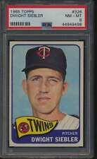 1965 Topps #326 Dwight Siebler  PSA 8  NMMT 55495