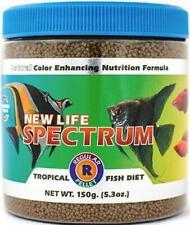 New Life Spectrum Tropical Fish Regular Pellet Fresh & Marine Fish Food 150g