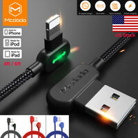 3 Pack Mcdodo Lightning Cable Charger Charging Cord For iPhone XR 7 8 6s Plus XS