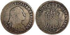 pci1218) Napoli Ferdinando IV piastra gr 120 del 1787