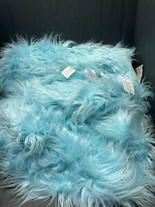 LARGE Pottery Barn Teen Faux Fur SnowCone BEANBAG COVER Kids CHRISTMAS Gift NEW