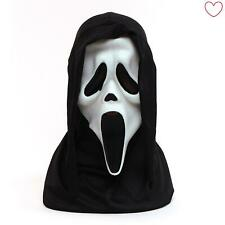 Official Howling Scream Mask White Horror Mask Hood