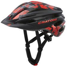 Cratoni Pacer Ronda Casco Niños Bicicleta con Visera MTB BMX Patines en Línea
