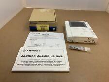 Aiphone intercom JA-2HCD Sub Master Station with PanTilt Video Monitor