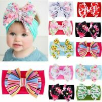2PC Boho Style Baby Girls Flower Bow BB Hair Clip Children Gift Cotton Hairpins