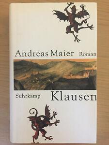 Andreas Maier: Klausen. Südtirol Kimi Kriminalroman. Brixen. Gebundene Ausgabe