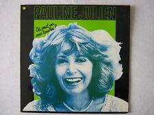 PAULINE JULIEN 33 TOURS FRANCE OU PEUT-ON VOUS TOUCHER