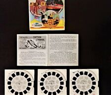 🎬Viewmaster jewel🎬Cartoon Carnival, full set, with Gerry Anderson`s SUPERCAR🎬