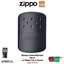 Zippo Hand Warmer, Black, 12-Hour Handwarmer #40334