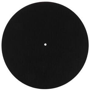Felt Turntable Platter Mat LP Slip Mat Audiophile 3mm Thick For LP Vinyl Reco_fr
